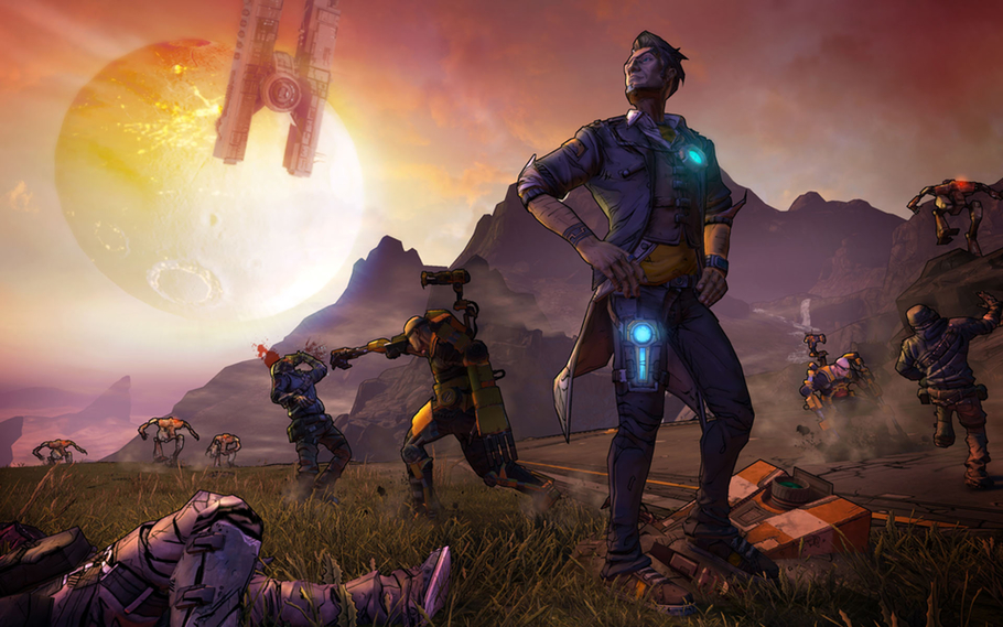 Crazy Town: Gearbox on making Borderlands 2 | Polygon